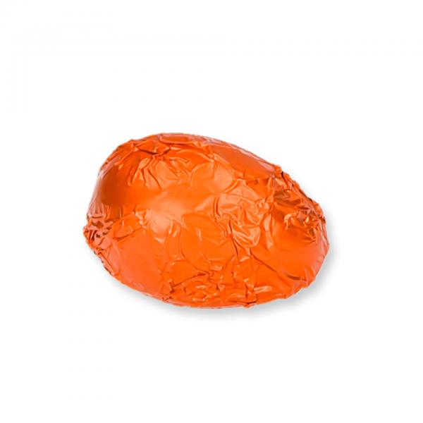 Zartbitter-Schokolade-Ei mit Marillenschnaps-Fülle