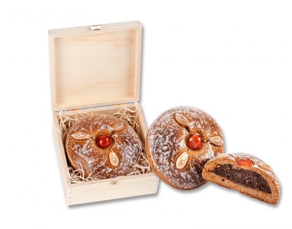 Holzkassette - mit Murtaler Lebkuchen