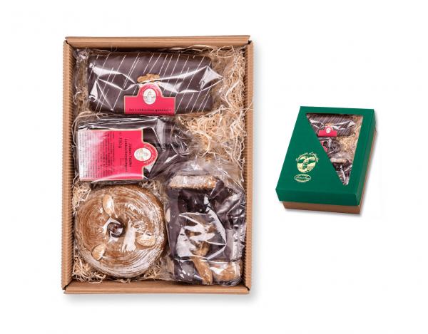 Geschenkskarton - Lebkuchenmischung