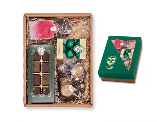 Geschenkskarton - mit Steirischem Weltmeister Konfekt