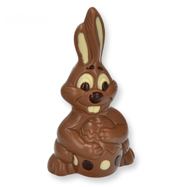 Bunny mit Ei groß, Vollmilch
