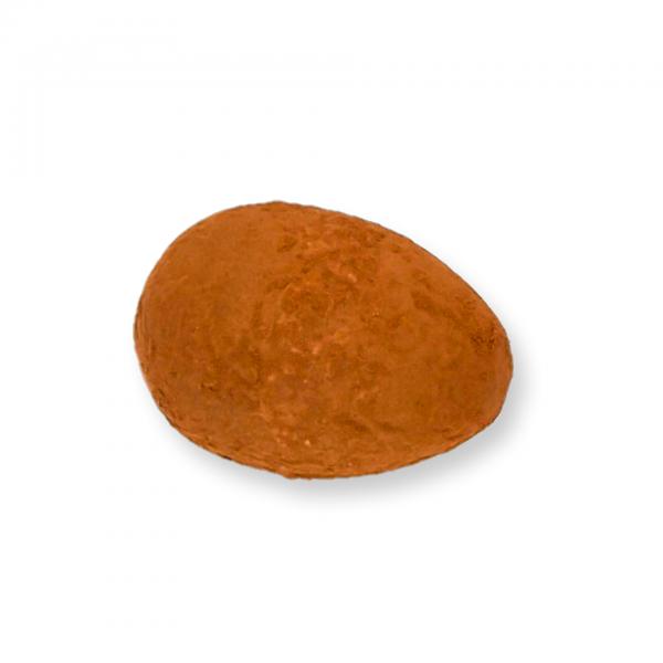 Zartbitter-Schokolade-Ei mit Whisky-Fülle