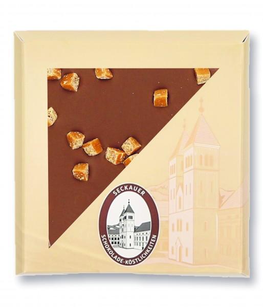 CVSC45 - Caramell-Vollmilch-Schokolade mit Caramell-Stücken