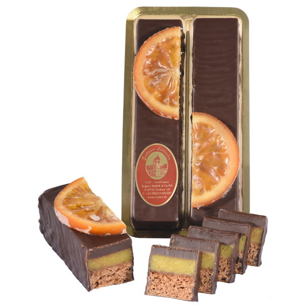 Orangen-Marzipan-Lebkuchenstangerl