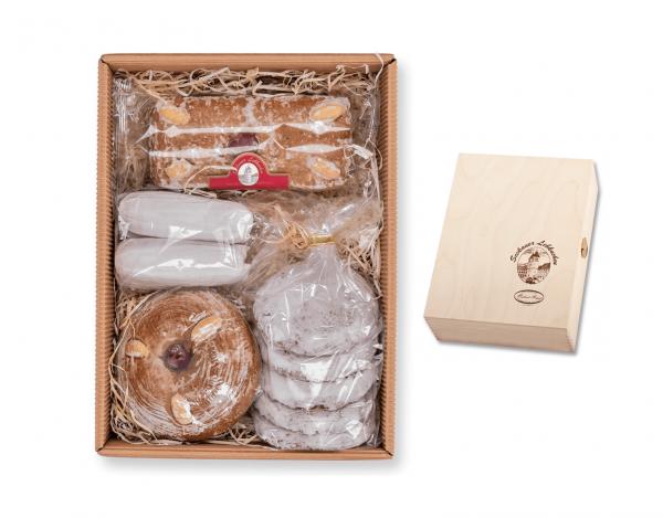 Holzkassette - Lebkuchen Sommermischung