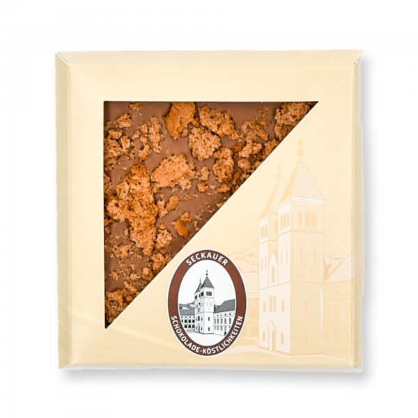 CVSL45 - Caramell-Vollmilch-Schokolade mit Lebkuchencrunch