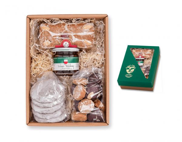 Geschenkskarton - Sommerpackung mit Honig